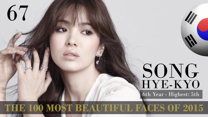 The 100 most beautiful faces 2015 67