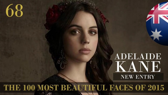 The 100 most beautiful faces 2015 68