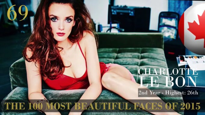 The 100 most beautiful faces 2015 69