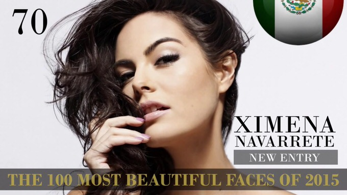 The 100 most beautiful faces 2015 70