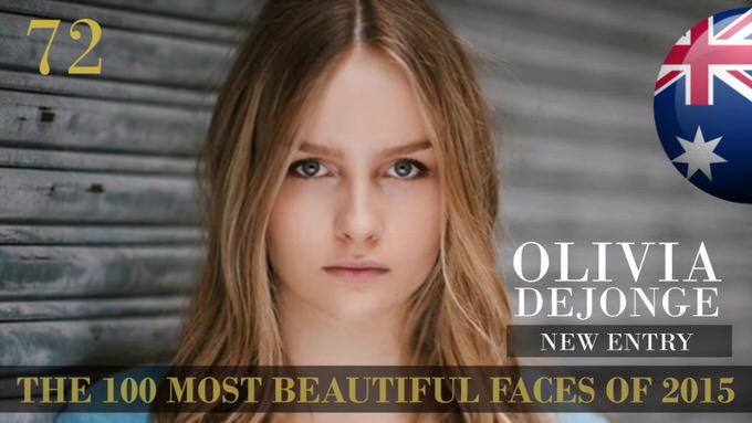 The 100 most beautiful faces 2015 72