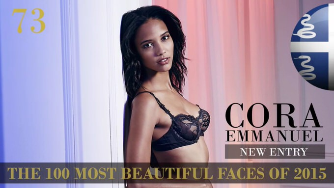 The 100 most beautiful faces 2015 73