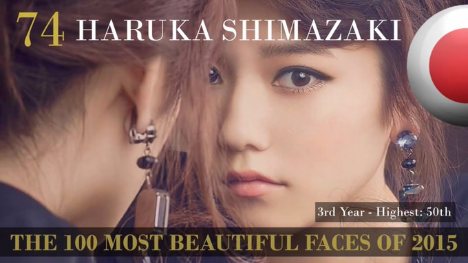 The 100 most beautiful faces 2015 74