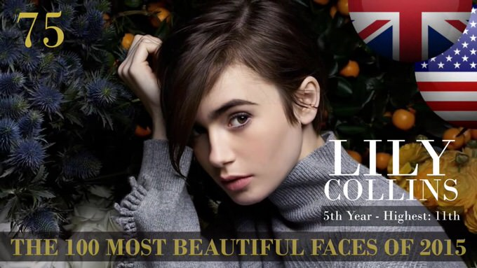 The 100 most beautiful faces 2015 75