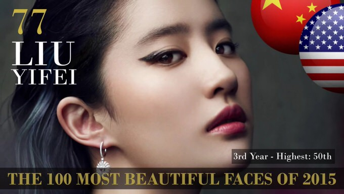 The 100 most beautiful faces 2015 77