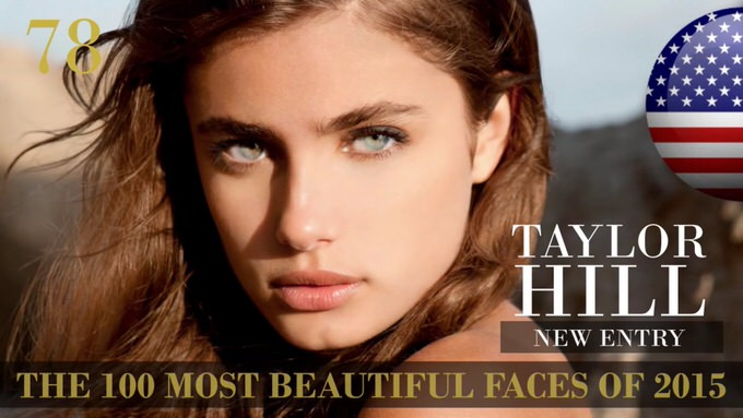 The 100 most beautiful faces 2015 78