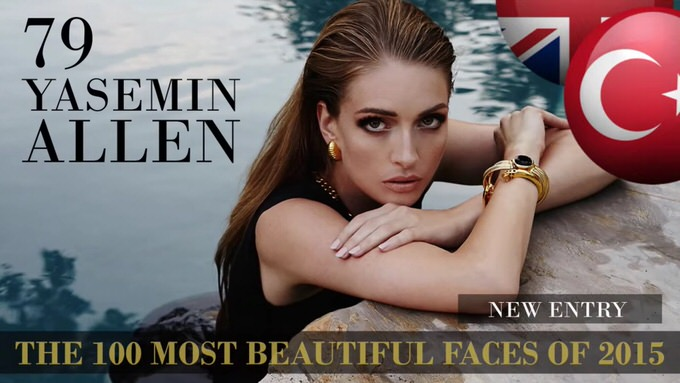 The 100 most beautiful faces 2015 79