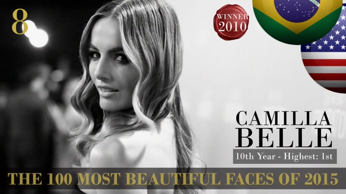 The 100 most beautiful faces 2015 8