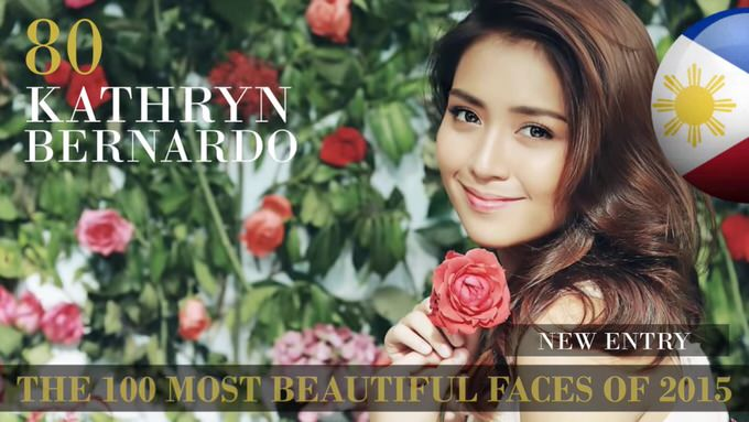 The 100 most beautiful faces 2015 80