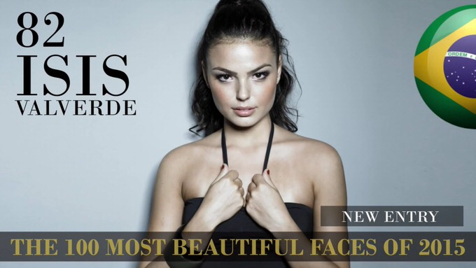 The 100 most beautiful faces 2015 82