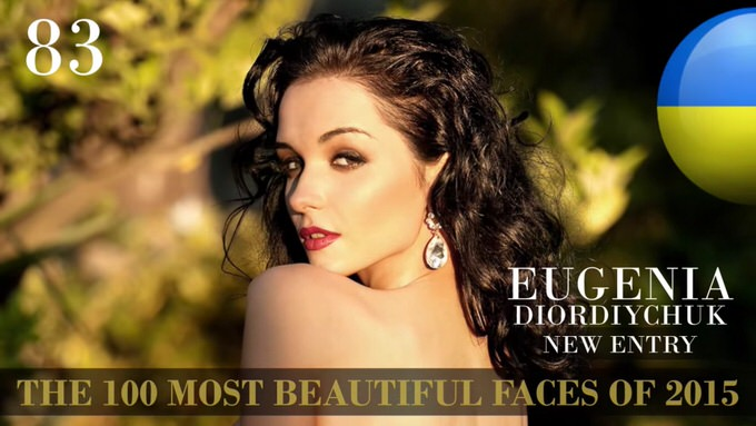 The 100 most beautiful faces 2015 83