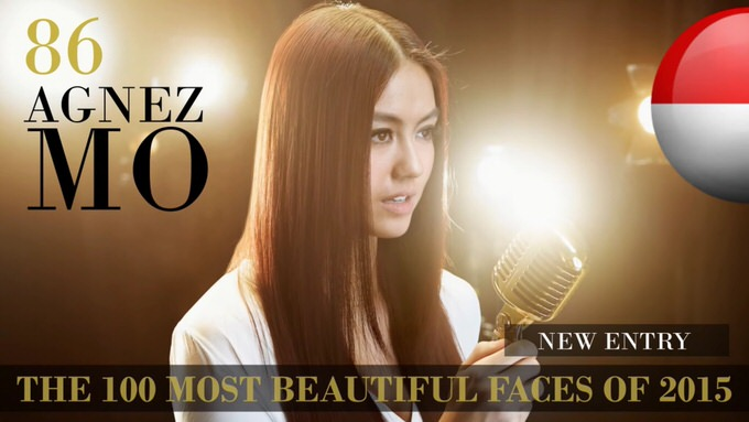 The 100 most beautiful faces 2015 86