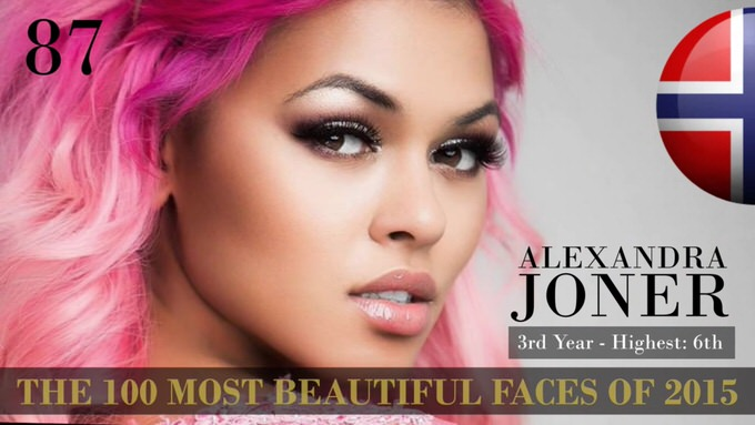 The 100 most beautiful faces 2015 87