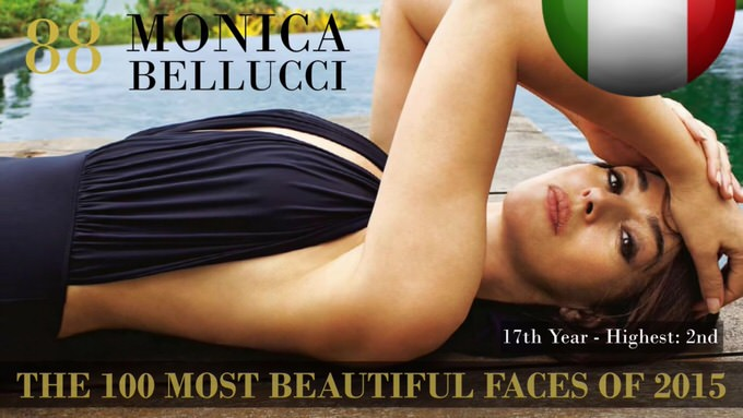 The 100 most beautiful faces 2015 88