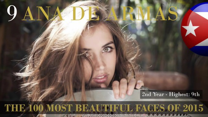 The 100 most beautiful faces 2015 9