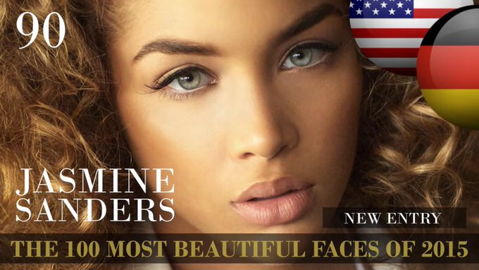 The 100 most beautiful faces 2015 90