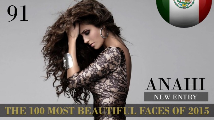 The 100 most beautiful faces 2015 91