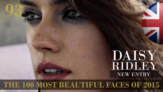 The 100 most beautiful faces 2015 93