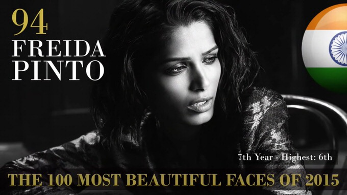 The 100 most beautiful faces 2015 94