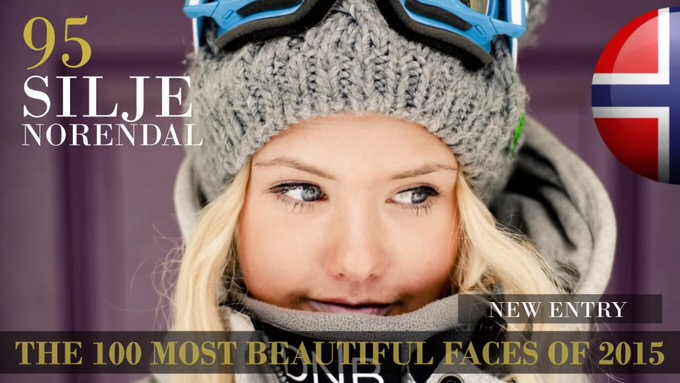 The 100 most beautiful faces 2015 95
