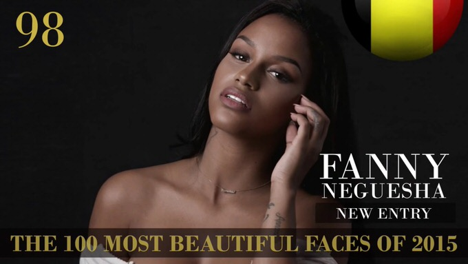 The 100 most beautiful faces 2015 98