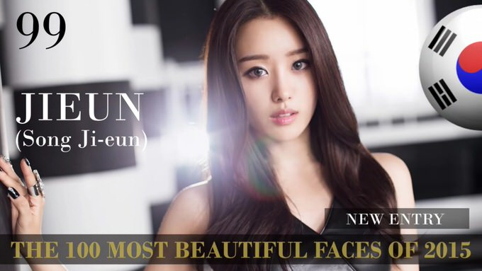 The 100 most beautiful faces 2015 99