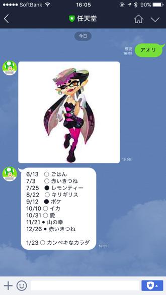 Line at nintendo 7