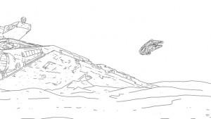 【ネタバレ注意】スターウォーズ フォースの覚醒を60秒でまとめた動画