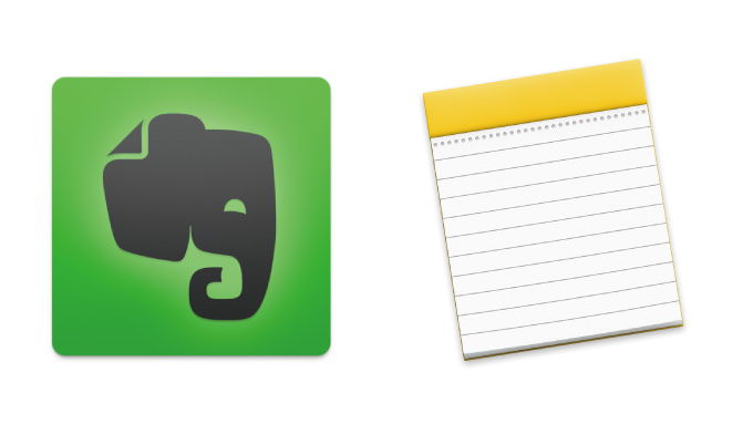 Evernote to note