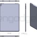 iPad Air 3の図面画像が流出?!まるで小型化されたiPad Pro?