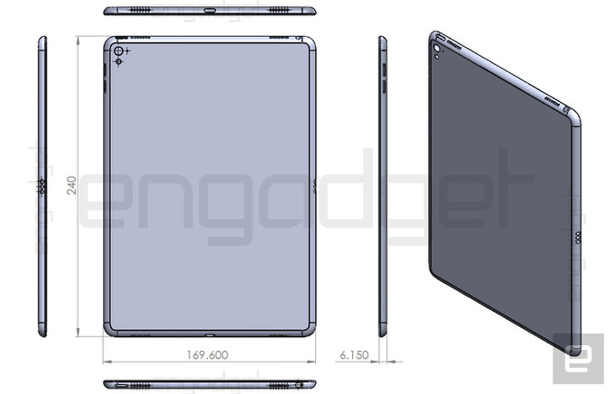 Ipad air 3 leak engadget
