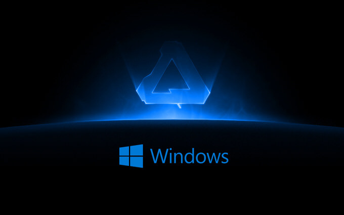 Affinity on windows