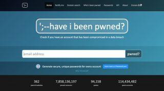 メールアドレスが流出していないか確認できる「Have I been pwned?」を試してみたら、Adobeが流出してた