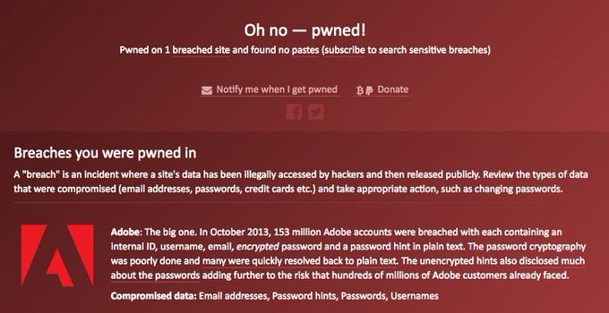 Website have i been pwned 4