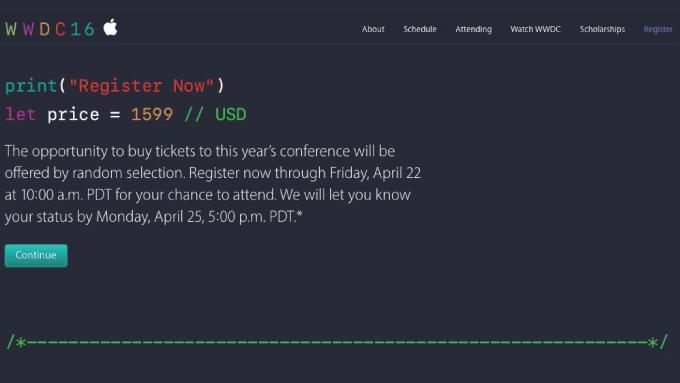 Apple、「WWDC 2016」を6月13日より開催と発表 ―― 次期iOSなどが発表される見込み
