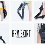 絶対領域拡張計画「アームスカート」を発表 ―― 完全に武装錬金のバルキリースカート「臓物をブチ撒けろ!」