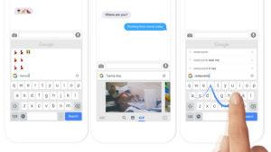 キーボードからググれる?!Googleがキーボードアプリ「Gboard」をリリース ―― 日本語には未対応