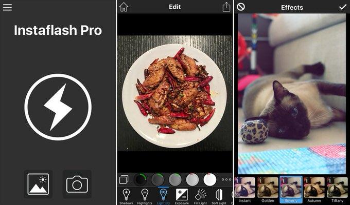 600円→無料!あと数時間だから急いでDLを!高機能な写真編集アプリ「Instaflash Pro」