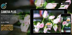 120円→無料!マクロ撮影や遠隔操作が得意なカメラアプリ「Camera Plus」が無料