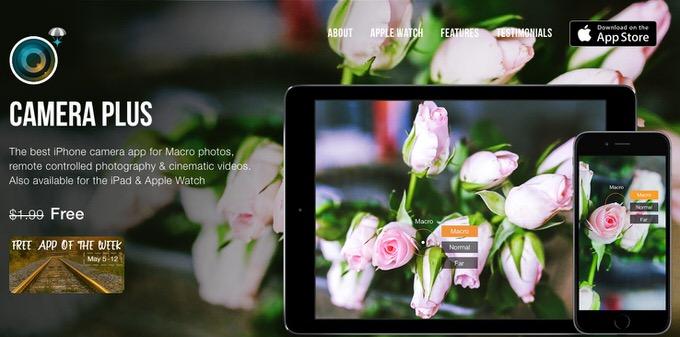 Iphoneapp sale cameraplus 1
