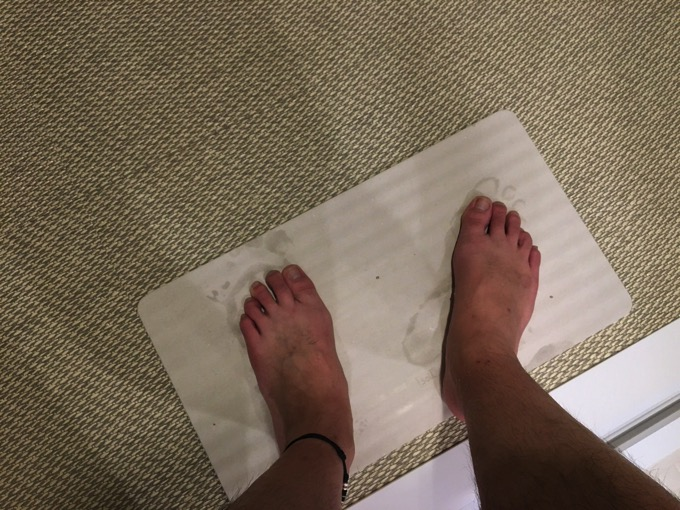 Soil bath mat light 2