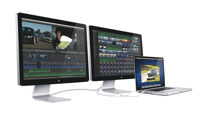 Apple、新型「Thunderbolt Display」は5K、GPU内蔵で5K非対応端末でも使用可能に?