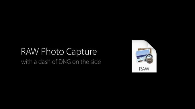 iOS 10、iPhoneでRAWでの撮影&現像が可能に
