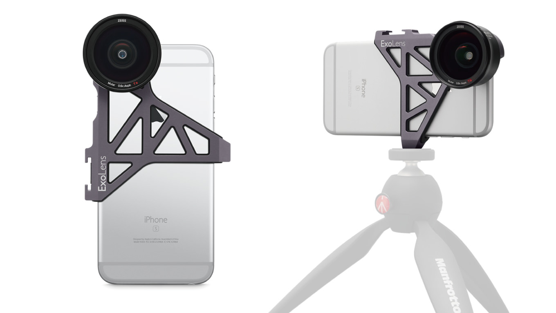 iPhone用カールツァイスの広角レンズ「ExoLens with Optics by ZEISS」が発売