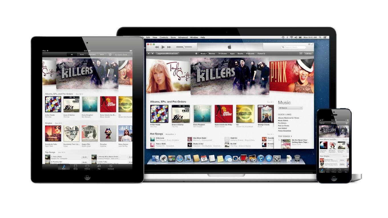 Apple music itunes match