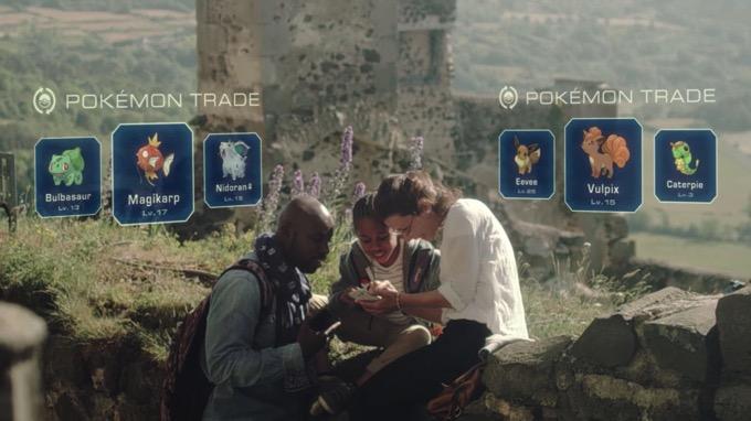 ポケモンGO、友だちとのトレード(交換)機能は実装予定、ポケモンセンターや新世代ポケモンの追加も