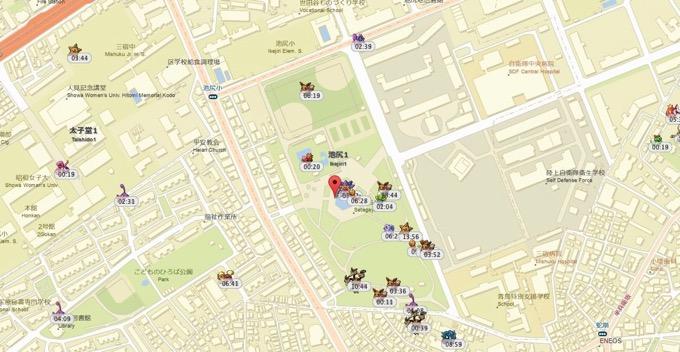 【ポケモンGO】東京の新しいポケモンの巣が続々と明らかに、ミニリュウの巣も発見!
