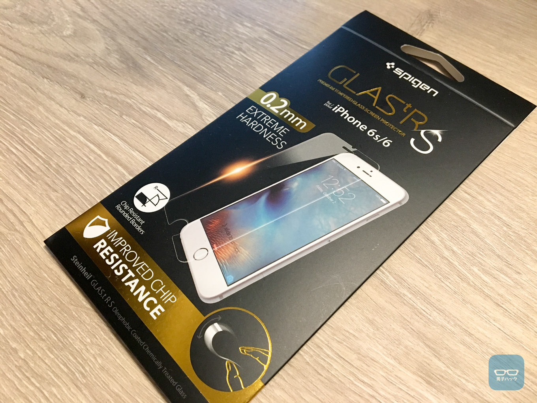 【レビュー】iPhone 6sのガラスフィルム、どれも似たようなもんかと思っていたけど「Spigen GLAS.tR S」は柔軟性が違う