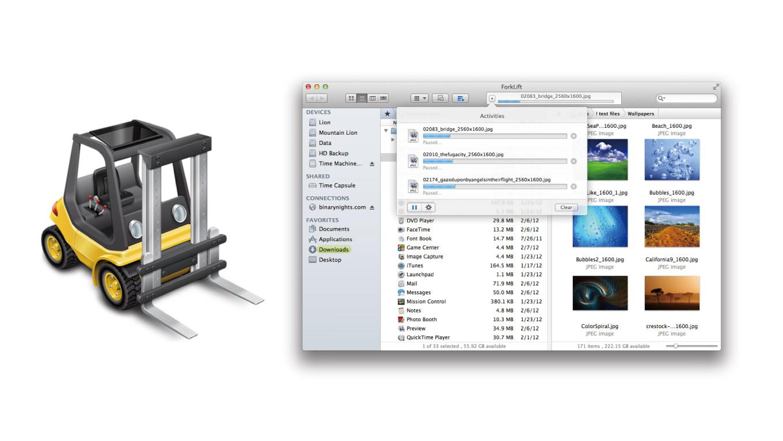 【2400円→無料】Macの人気ファイルマネージャー&FTPクライアント「ForkLift 2」