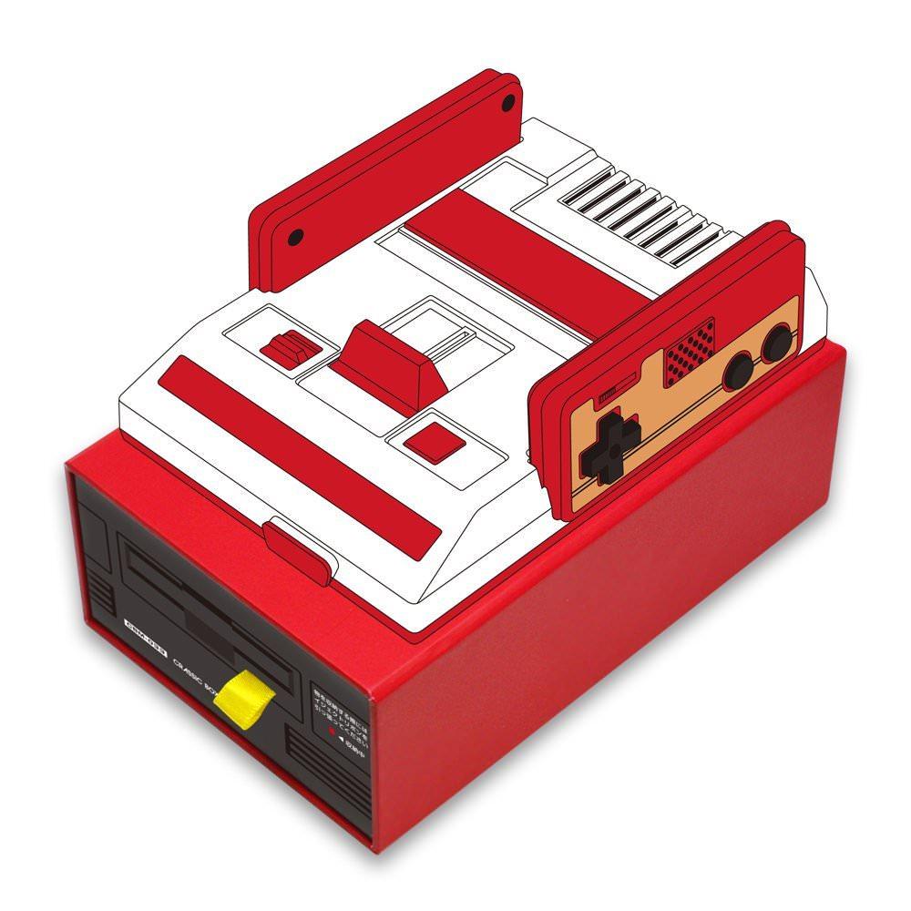ミニファミコンと一緒に買いたい!ディスクシステム風ボックス&懐かしデザインボックスが登場
